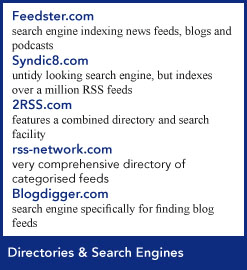 directories and search engines