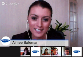jobs.ac.uk 'How to secure a job after your PhD' Google+ Hangout on Air Screenshot