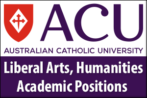 Liberal Arts, Humanities Academic Positions - BA Western Civilisation