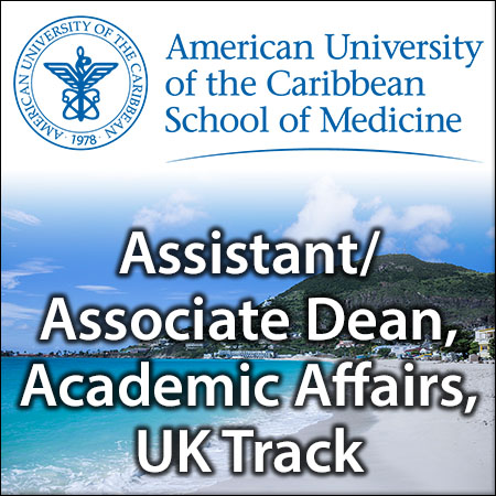 Assistant/Associate Dean, Academic Affairs, UK Track