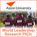 Delivering World Leadership Research PhD Studentships