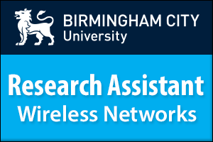 Research Assistant - Wireless Networks