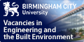 Vacancies in Engineering and the Built Environment