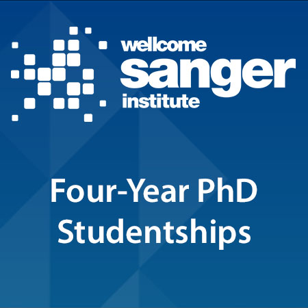 Wellcome Sanger Institute Four-Year PhD Studentships
