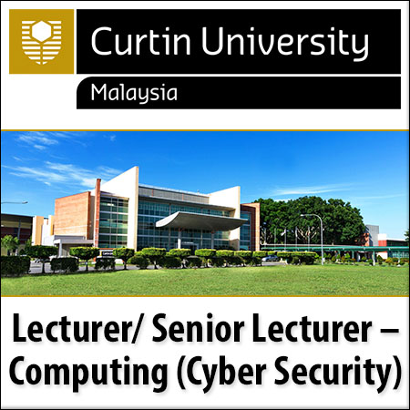 Lecturer/Senior Lecturer, Computing (Cyber Security)