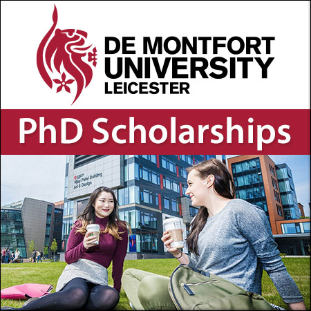 De Montfort University PhD Scholarships