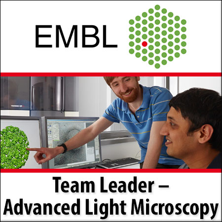 Team Leader in Advanced Light Microscopy Service and Technology Development