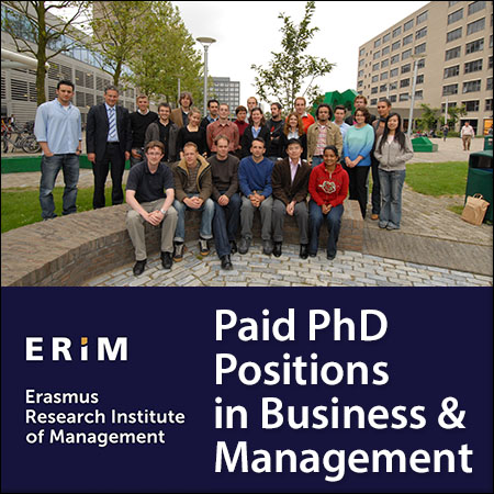 opportunities at Erasmus University Rotterdam