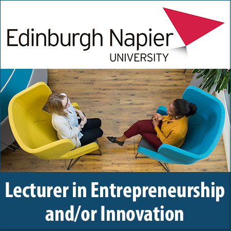 Lecturer in Entrepreneurship and/or Innovation