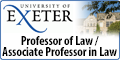 Professor of Law / Associate Professor in Law