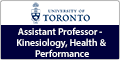 Assistant Professor - Kinesiology, Health and Performance