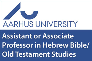 Assistant or Associate Professor in Hebrew Bible/Old Testament Studies