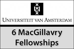 6 MacGillavry Fellowships (Tenure track position for talented female researchers)