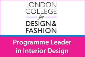 Programme Leader in Interior Design