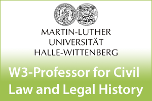 W3-Professor for Civil Law and Legal History