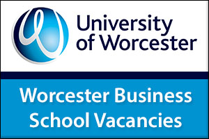 Worcester Business School Vacancies