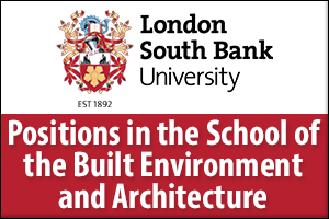 School of Built Environment & Architecture Campaign