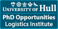 University of Hull Logistics Institute (3 PhD Studentships)