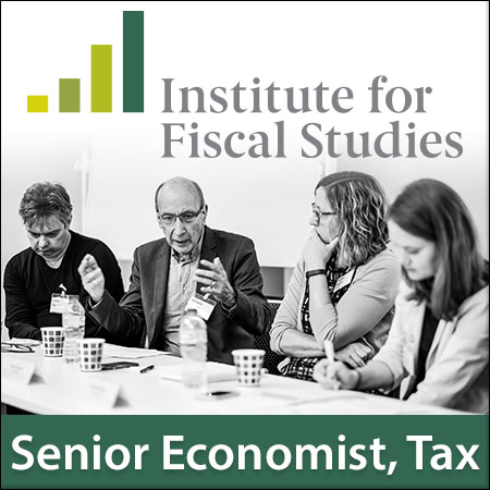 Senior Economist, Tax