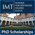2017/18 PhD program at IMT School for Advanced Studies Lucca