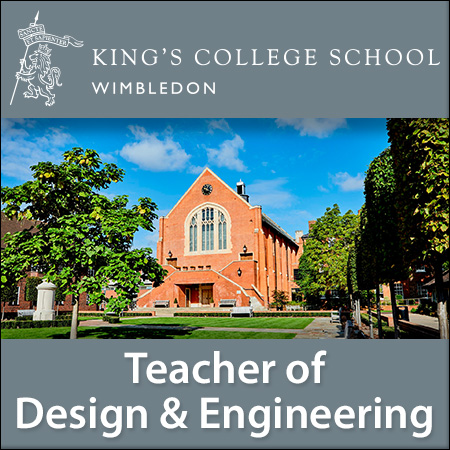 Teacher of Design & Engineering