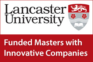 Funded Masters with Innovative Companies