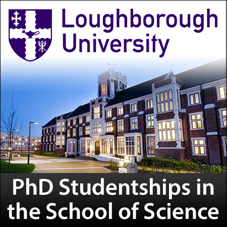 PhD Studentships in the School of Science