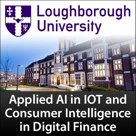 PhD Studentship: Applied AI in IOT and Consumer Intelligence in Digital Finance