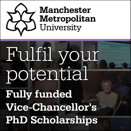 Fulfil your potential: Fully funded Vice-Chancellor's PhD Scholarships