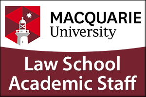 Macquarie Law School Academic Staff