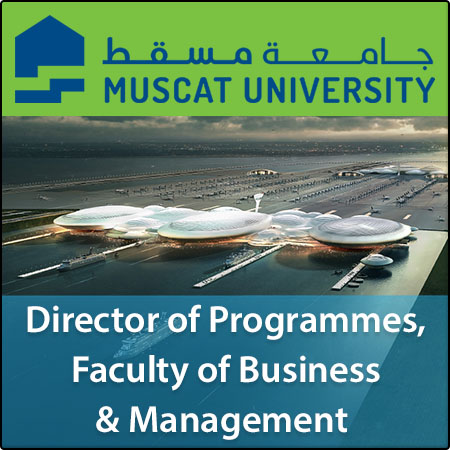 Director of Programmes, Faculty of Business & Management