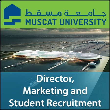 Director, Marketing and Student Recruitment