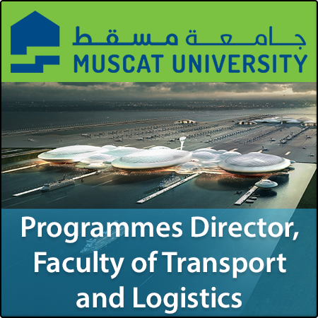 Programmes Director, Faculty of Transport and Logistics