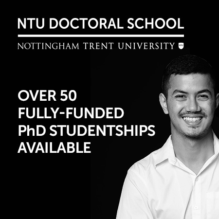 Funded PhD studentships