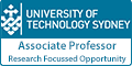 Associate Professor/Professor – Research Focussed Opportunity