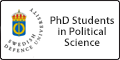 Featured Button - PhD Students in Political Science