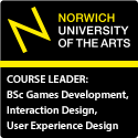 Course Leader: BSc Games Development, Interaction Design, User Experience Design