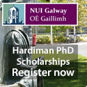 'New' Expression of Interest Call for fully funded Hardiman PhD Scholarships at NUI Galway, Ireland.
