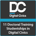11 Doctoral Training Studentships in Digital Civics