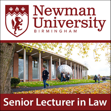 Senior Lecturer in Law