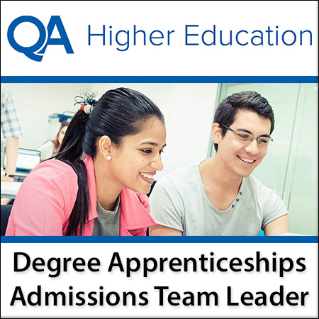 Degree Apprenticeships Admissions Team Leader