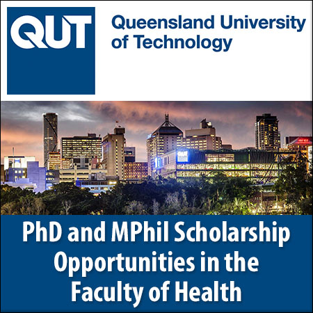 PhD and MPhil Scholarship Opportunities in the Faculty of Health