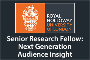 Senior Research Fellow: Next Generation Audience Insight