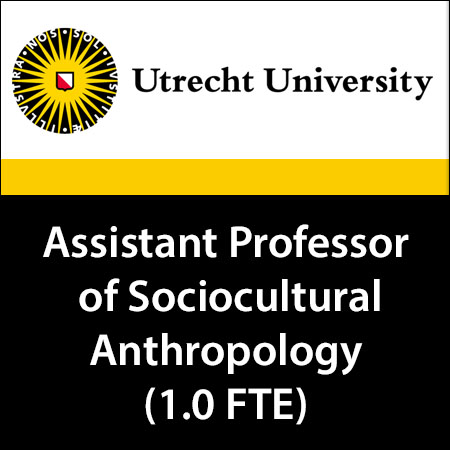 Assistant Professor of Sociocultural Anthropology