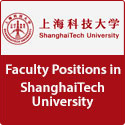 Faculty Positions in ShanghaiTech University