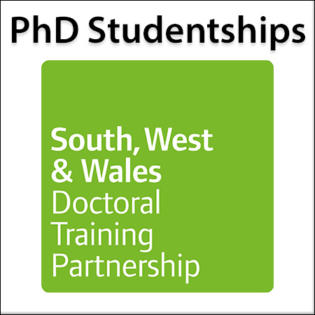 Up to 30 fully-funded PhD Studentships for entry in September 2019