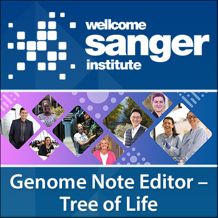 Genome Note Editor- Tree of Life