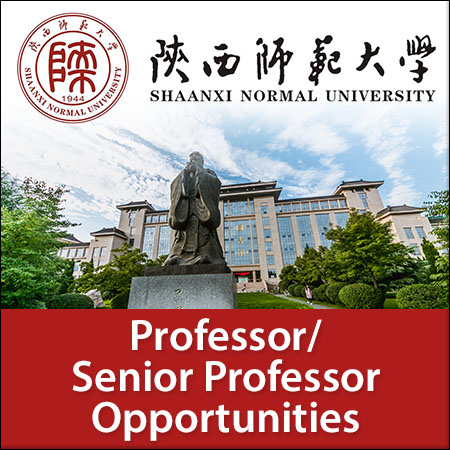 opportunities at Shaanxi Normal University