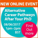 Alternative Career Pathways After Your PhD Live Q&A