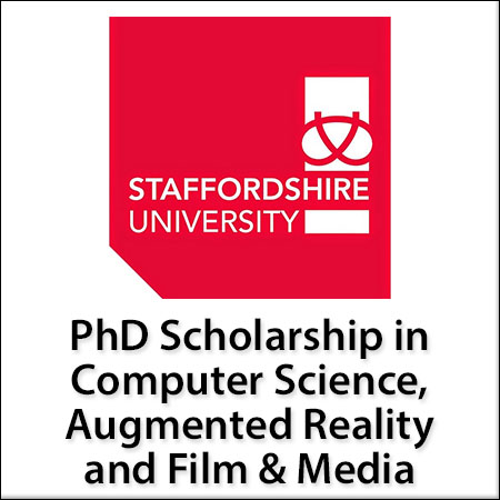 GTA - PhD Scholarship in Computer Science, Augmented Reality and Film & Media